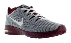 $120 - Nike Women's Grey/Maroon Air Max Fusion Team Running Shoes US 5 #shoes #nike #2016
