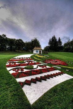 Landscape design at its best - Ukrainian style!! Ukraine