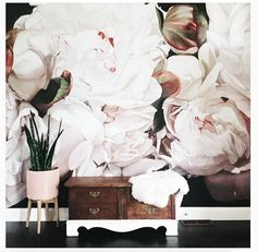 Thomas Darnell with Area Environments Painting Wallpaper, Of Wallpaper, Wallpaper Ideas, Thomas Darnell, Bedroom Art, Master Bedroom, Wall Candy, Austin Homes, Painter Artist