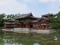 The Byodo-in Temple is a World Heritage Site and Uji's most famous tourist location