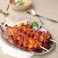 Tandoori chicken tikka cooked to perfection with fragrant Indian spices.Your taste buds will thank you!   #foodgawker