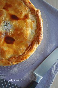 My Little Créa: Tourte rustique aux pommes de terre #recetteréconf...