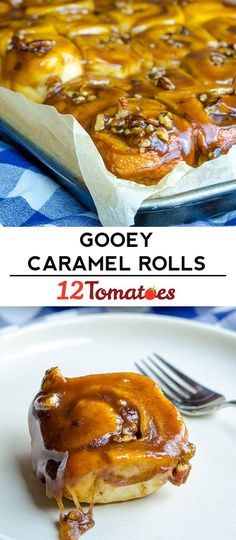Tin Project: Gooey Caramel Rolls - Food and drinks Recipe Tin Project: Gooey Caramel Rolls - Food and drinks,Recipe Tin Project: Gooey Caramel Rolls - Food and drinks, Caramel Rolls, Caramel Pecan, Rolled Sandwiches, Recipe Tin, Caramel Recipes, Cupcakes, Breakfast Recipes, Breakfast Dishes, Breakfast Casserole