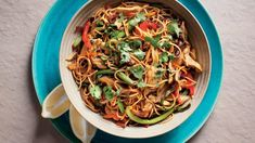 Curried Beef Noodles - The Singapore Women's Weekly Beef And Noodles, Pasta Noodles, Beef Chow Mein, Asian Recipes, Ethnic Recipes, Saute Onions, Noodle Recipes, Garam Masala, Curry