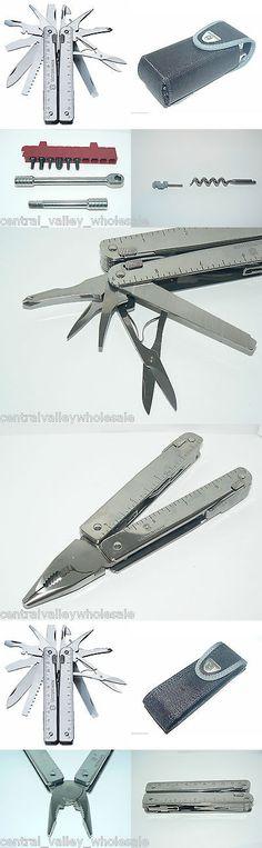 Multi-Tools 66824: New Victorinox Swiss Army Multi Tool Swisstool X And Ratchet Bit Kit 3.0339.N -> BUY IT NOW ONLY: $129 on eBay!