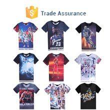 2015 Fashion Men Women's 3D Tee Shirt Print Basketball Star  best buy follow this link http://shopingayo.space