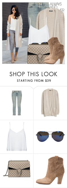 """""""2196. Blogger Style: Walk in Wonderland"""" by chocolatepumma ❤ liked on Polyvore featuring Oris, Frame, MANGO, Alice + Olivia, MICHAEL Michael Kors, Gucci, Gianvito Rossi, BloggerStyle, CasualChic and gucci"""