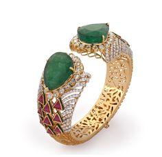 Diamond bracelet designed by Jet Gems