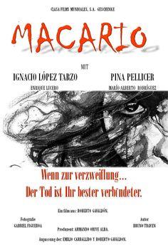 imágen de propuesta de cartel publicitario para la película de MACARIO