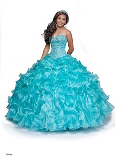 Little mermaid inspired quince dress