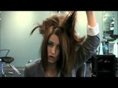 Best demonstration on how to tease your hair so you don't end up looking like a punk rocker!