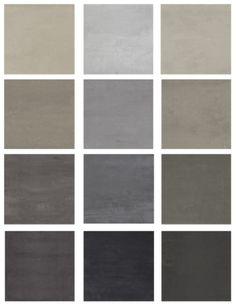 tegels vloer warm grijs - linker rij 3e van boven