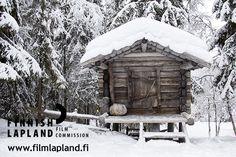Konttaniemi Reindeer Farm in winter in Rovaniemi, Finnish Lapland. Filming Locations, Barns, Arctic, Finland, Wilderness, Reindeer, Houses, Cabin, House Styles