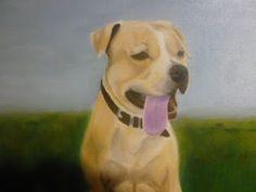 arte di dipingere: ritratto cane a olio - passo a passo