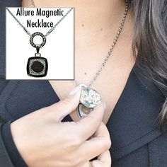 Navika Girl's floating magnetic charm necklace lets you pick from an assortment of magnetic charm options so you can change your necklace every day of the week!