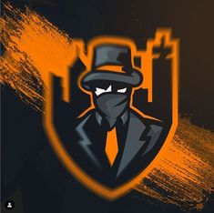 Mafia, Logo Esport, Gaming Logo, Game Logo Design, Esports Logo, Facebook Art, E Sport, Gaming Wallpapers, Galaxy Wallpaper