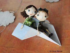 Chloe Remiat Paper Clay, Clay Art, Paper Art, Paper Crafts, Paper Dolls, Art Dolls, Doll House Crafts, Art Sculpture, Creation Deco