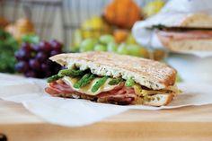 Ham and Asparagus Panini