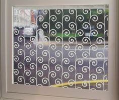 Sprouts Sheer Window Film