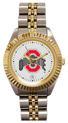 Ohio State University Buckeyes Ladies Executive Stainless Steel Sports Watch by SunTime. $149.99