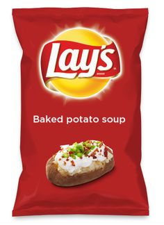 Wouldn't Baked potato soup be yummy as a chip? Lay's Do Us A Flavor is back, and the search is on for the yummiest flavor idea. Create a flavor, choose a chip and you could win $1 million! https://www.dousaflavor.com See Rules.