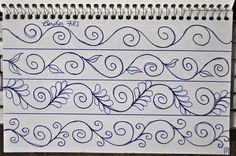 LuAnn Kessi: Sketch Book.....Border Designs
