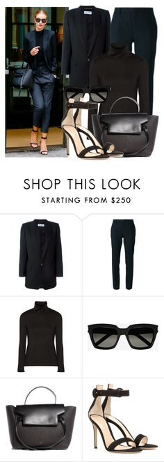"""""""Rosie Huntington-Whiteley"""" by justadream133 ❤ liked on Polyvore featuring Whiteley, Yves Saint Laurent, Y-3, Gianvito Rossi and RosieHuntingtonWhiteley"""