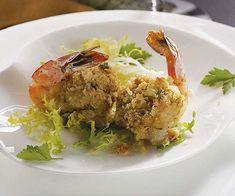 Crab & Scallion Stuffed Shrimp recipe