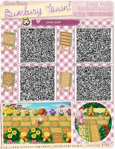 Petal Path Spring/Summer QR codes