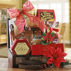 Holiday Blessings Christmas Gift Basket $89.95