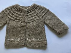 Knitted Baby Cardigan, Baby Knitting Patterns, Baby Kids, Sweaters, How To Make, Bb, Crochet Bebe, Amelia, Fashion