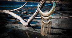 Rain chains brass  collar  necklace BISJOUX : pure