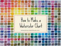 How to Make a Watercolor Chart Instructions