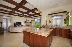 Staged to Sell this gorgeous kitchen in this magnificent home on one of the premier lots within this 134 custom Home Site at the exclusive Meadows Del Mar Community.