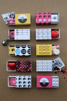 Valentine Boxes – 25 DIY Templates, Printables, and Tutorials – Joyful Abode - Valentines Valentine Day Boxes, Valentines Day Activities, Homemade Valentines, Valentines Day Gifts For Him, Valentine Day Crafts, Craft Gifts, Diy Gifts, Diy Valentine's Box, Matchbox Crafts