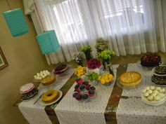 minha casa, meu mundo: Cores e flores numa festa só para mulheres