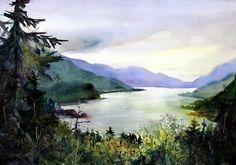 Pacific Northwest Artist Bonnie White Columbia River