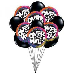Reaching At Ripening Age Order Balloons Send Online Happy Birthday