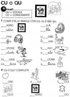 Risultati immagini per schede sulle parole capricciose