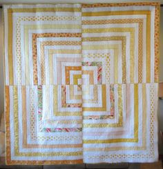 """""""Sunny Side Up"""" from Stash Lab - Simple Solutions for Scrap Quilts by Tonya Alexander."""