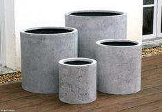 Pflanzkübel Zylinderform Beton