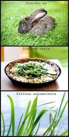Blog kulinarny: Zielono mi, czyli zielona tarta i wspomnienie lata