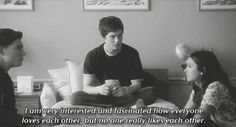 TPOBAW  Quote from Charlie a.k.a. Logan Lerman