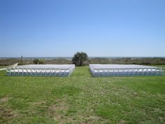 Ceremony at the citadel beach house