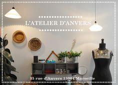 Sibylle Flouret à l'Atelier d'Anvers 35 rue d'Anvers 13004 MARSEILLE