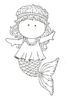Mermaid Coloring Page  Things we think are super cool over here at The Mermaid Tail.   Swim Like a Mermaid www.themermaidtail.com