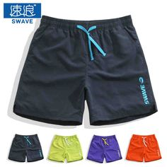 8bae4b361b Mens Swim Shorts Quick Dry Summer Board Shorts Athletic Running Gym Short  Men Sport Surf Beach
