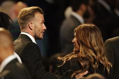 Retired soccer player David Beckham, left, was also one of the more than 15,000 in the KFC Center on Friday to honor Ali