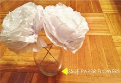 DIY: Tissue Paper Flowers by Emily Hagedorn   Project   Papercraft   Home Decor / Decorative   Kollabora