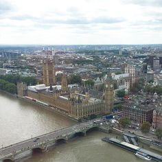 Gorgeous view of London! #strousehouseadventures